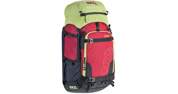 Evoc Zip-On ABS - Patrol Team - Mochila antiavalancha - 40L+ amarillo/rojo